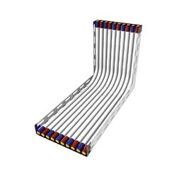 schéma protipožárního nátěru kabeláže
